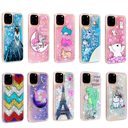 Girls Glitter Star Case for iPhone 11/11 Pro/11 Pro Max