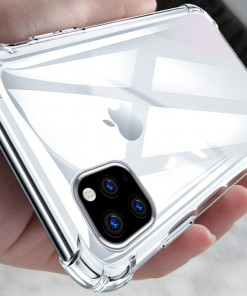 Shockproof Bumper Clear Silicone Case for iPhone 11/11 Pro/11 Pro Max
