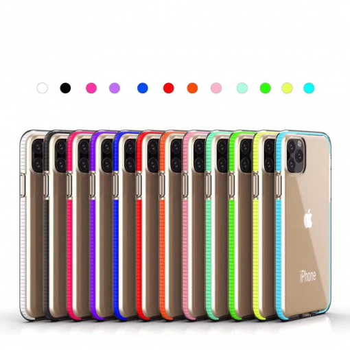 URCASE Color Frame Clear Cases for iPhone 11/11 Pro/11 Pro Max