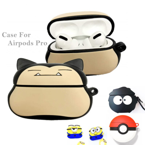 LoveRony 3D Silicone Case for AirPods Pro