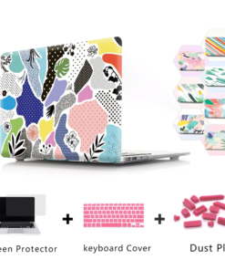 Abstract Graffiti Case for MacBook
