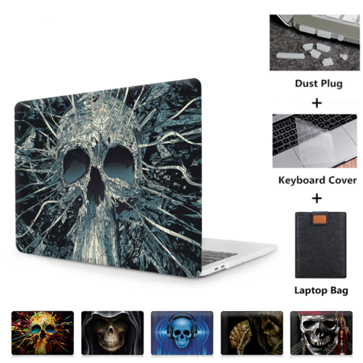 Skull Touch Case for MacBook