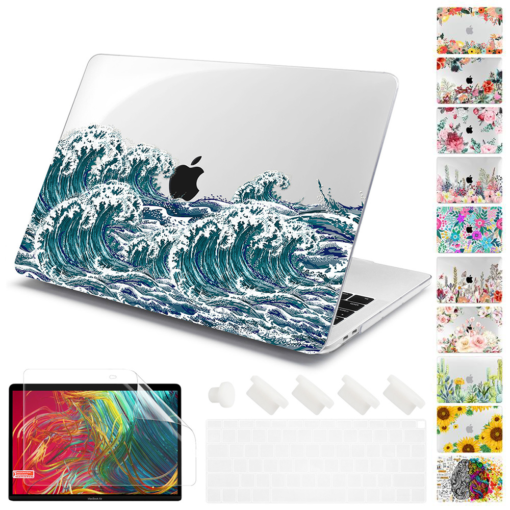 Matte Clear Painting Case for MacBook