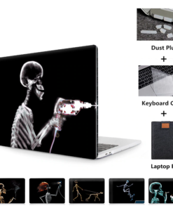 MTT black Skeleton Case for MacBook