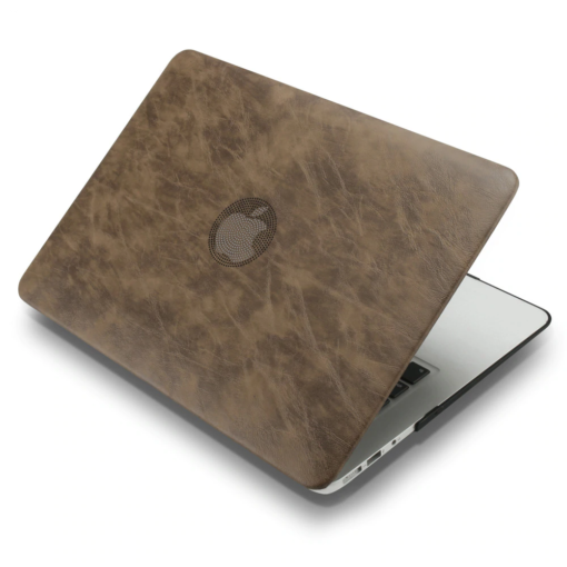 PU leather Hard Case for MacBook