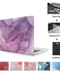 Hard Marble Retina Case for MacBook