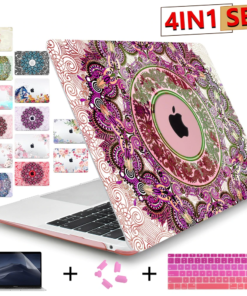 Mandala Print Case for MacBook
