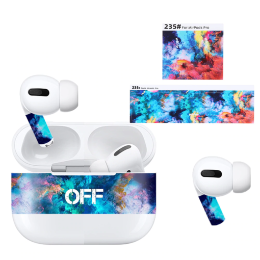 Camouflage Color Dust Guard for AirPods Pro