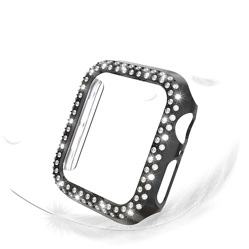 Double Rows Diamond Case for Apple Watch 22