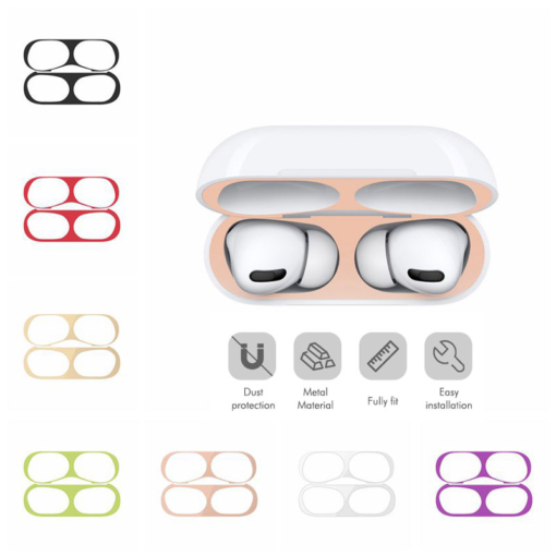 Protective Metal Dust Guard for AirPods Pro