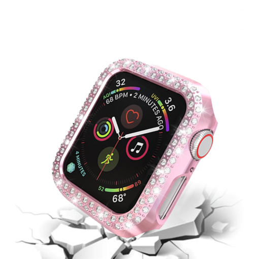 Double Rows Diamond Case for Apple Watch 3