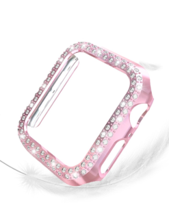 Double Rows Diamond Case for Apple Watch 2