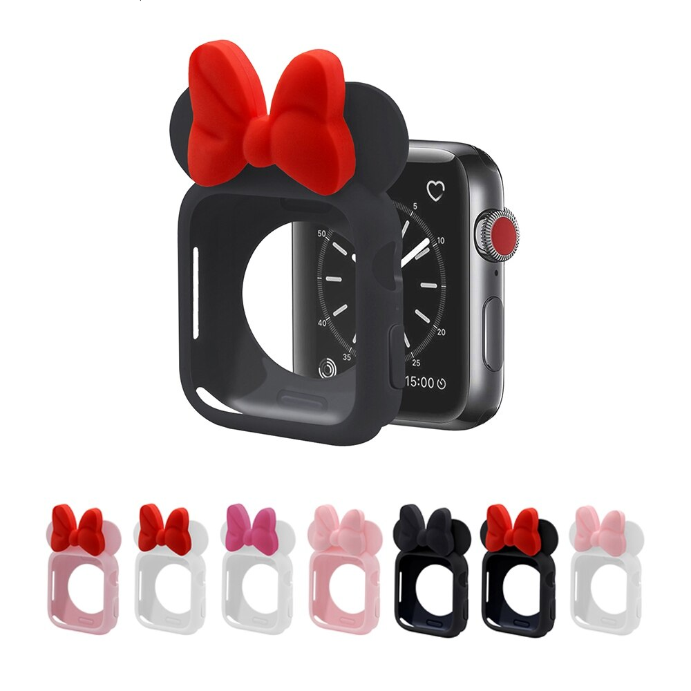 Cartoon Minnie Case for Apple Watch 37
