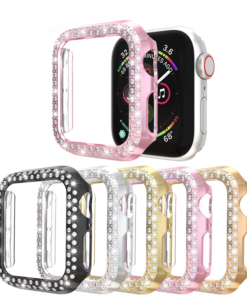 Double Rows Diamond Case for Apple Watch