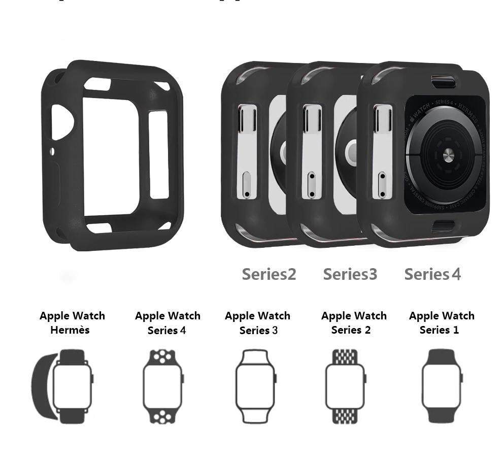 Thermoplastic Case for Apple Watch 41