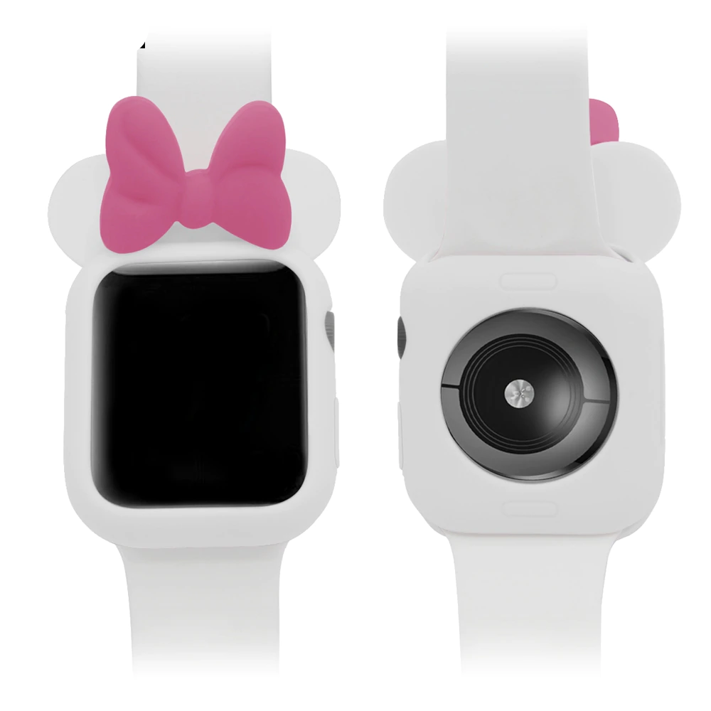 Cartoon Minnie Case for Apple Watch 50