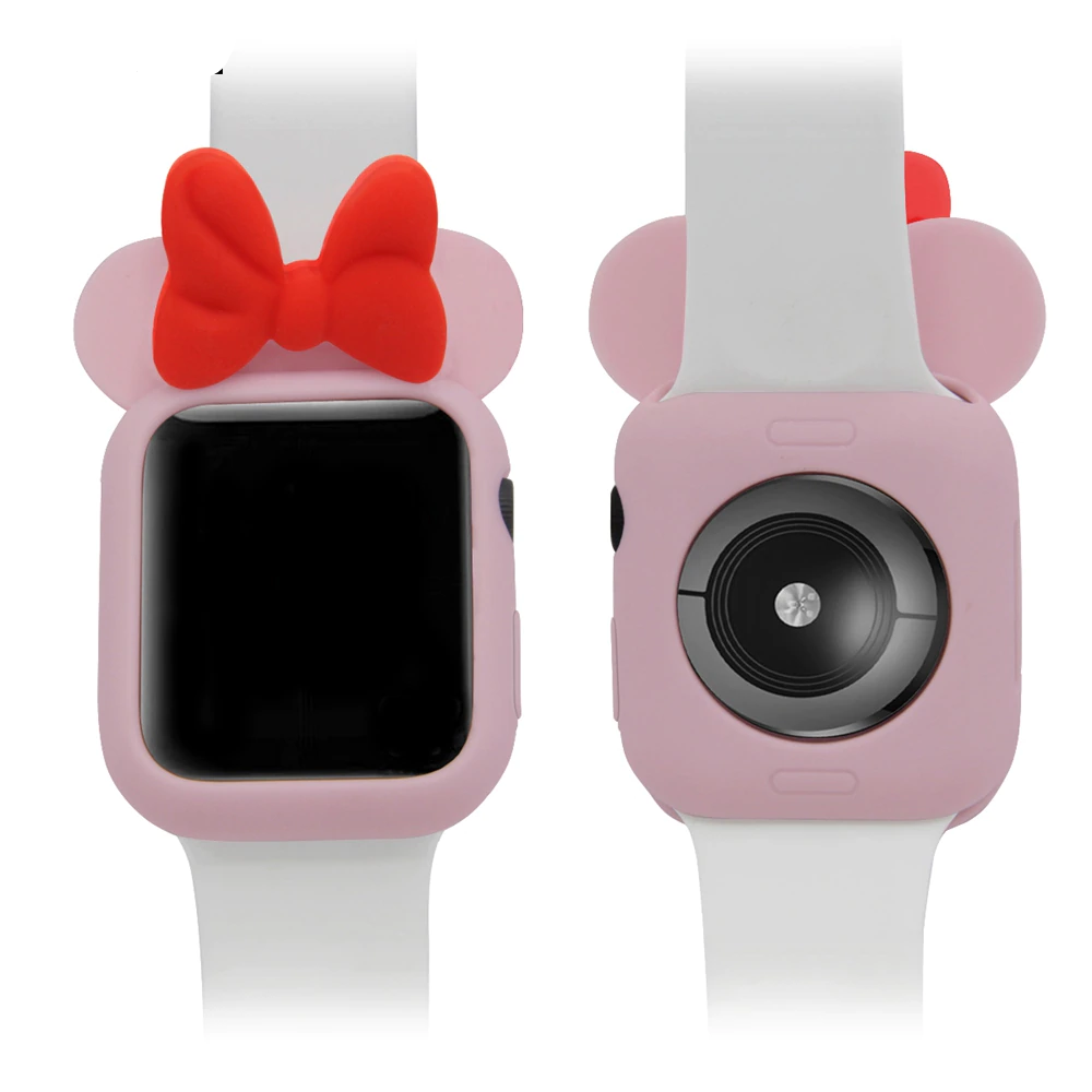 Cartoon Minnie Case for Apple Watch 46