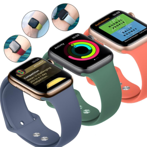 Colorful Silicone Band for Apple Watch