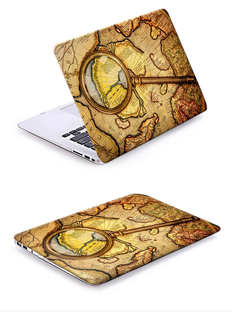 Retro World Case for MacBook 24