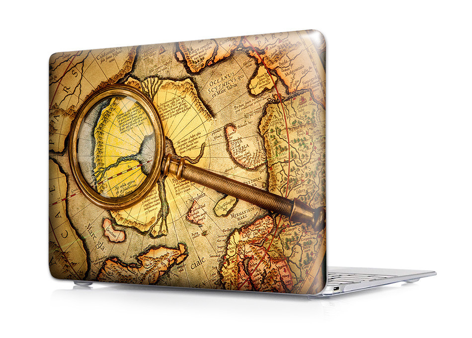 Retro World Case for MacBook 23