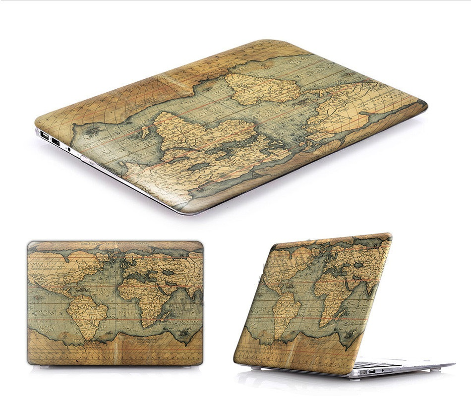 Retro World Case for MacBook 27
