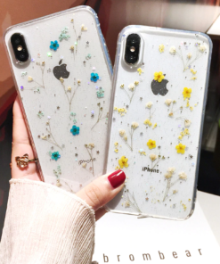 Flowers Soft Case for iPhone SE (2020)