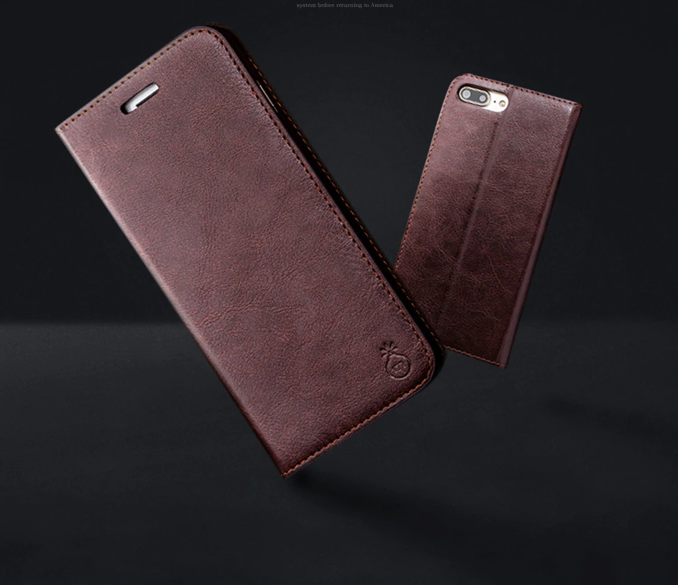 Genuine Leather Case for iPhone SE (2020) 54