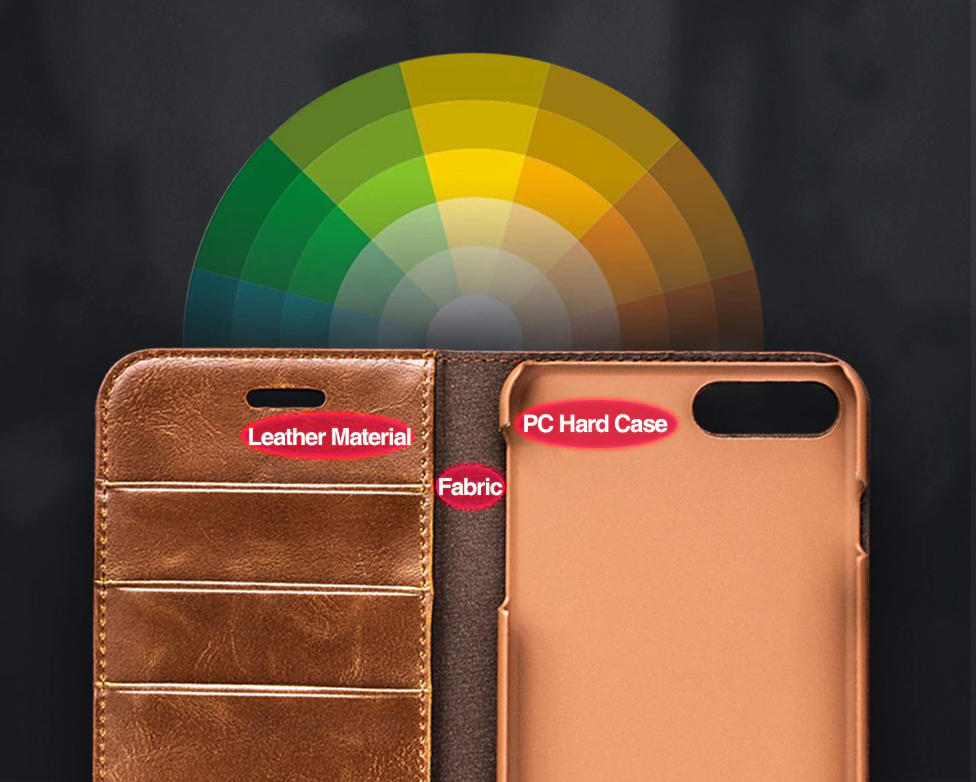 Genuine Leather Case for iPhone SE (2020) 61