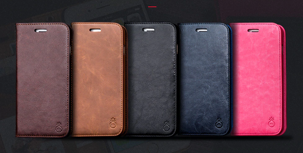 Genuine Leather Case for iPhone SE (2020) 56