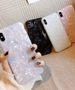 Glossy Glitter Case for iPhone SE (2020)