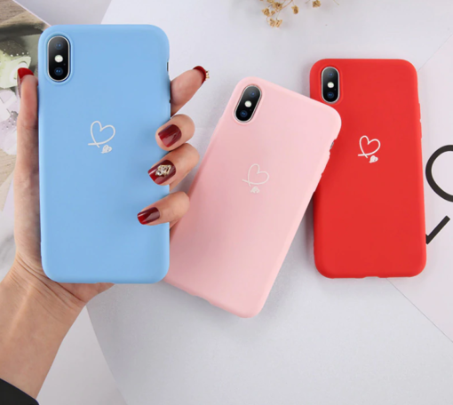 Love Heart Case for iPhone SE (2020) 2
