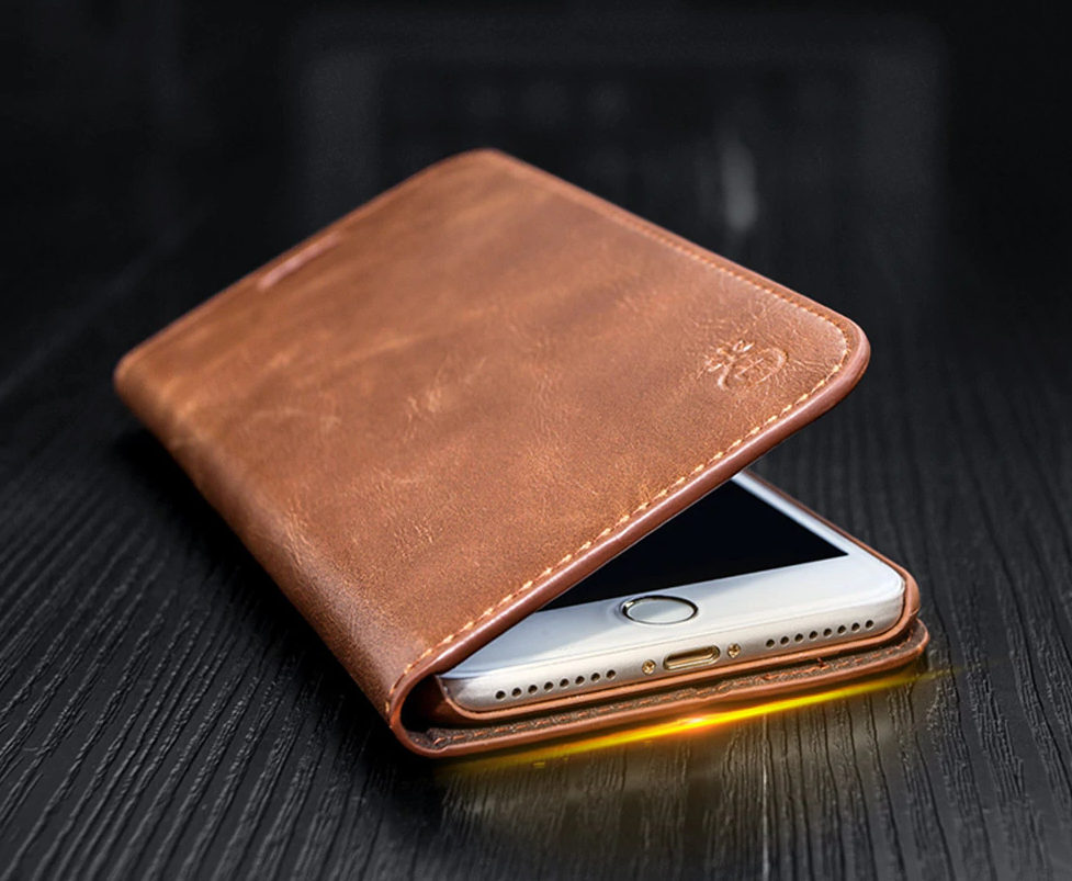 Genuine Leather Case for iPhone SE (2020) 57