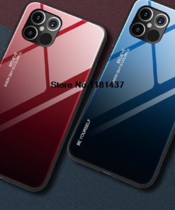 Hard Gradient Glass Case for iPhone 12/12 Max/12 Pro/12 Pro Max 2